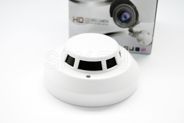 High resolution camera in a smoke detector
