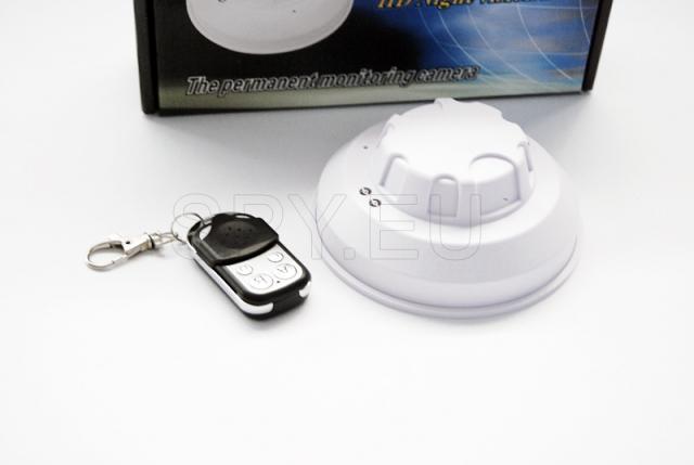 Smoke detector-camera