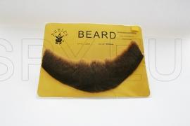 FB-MB - Full, Human Beard (Medium Brown)
