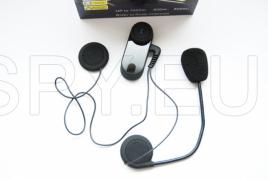 Bluetooth receiver and intercom for helmet