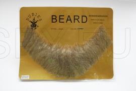 FB-LG - Full, Human Beard (Light Grey)