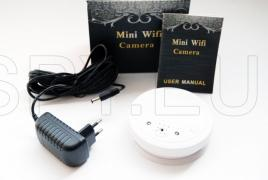 Spy HD Wi-Fi camera in smoke detector