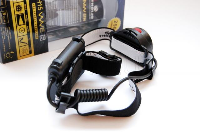 Headlamp with motion detector