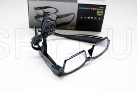 HD camera in glasses with white glass