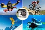 Sports airtight Wi-Fi HD camera
