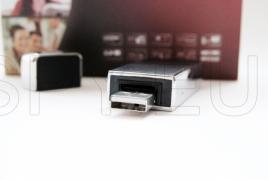 Flash stick camera with IR LEDs