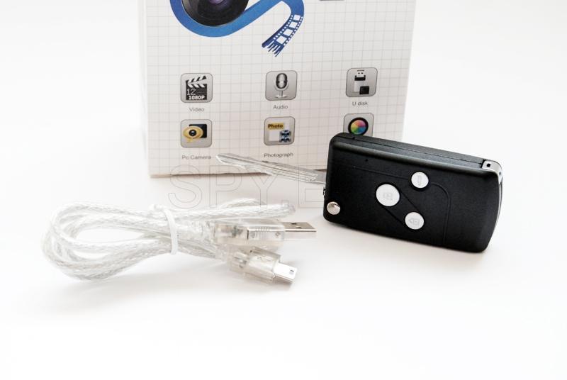 HD камера в автомобилен ключ