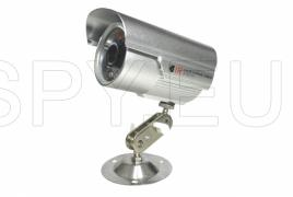 Recording camera with motion detector