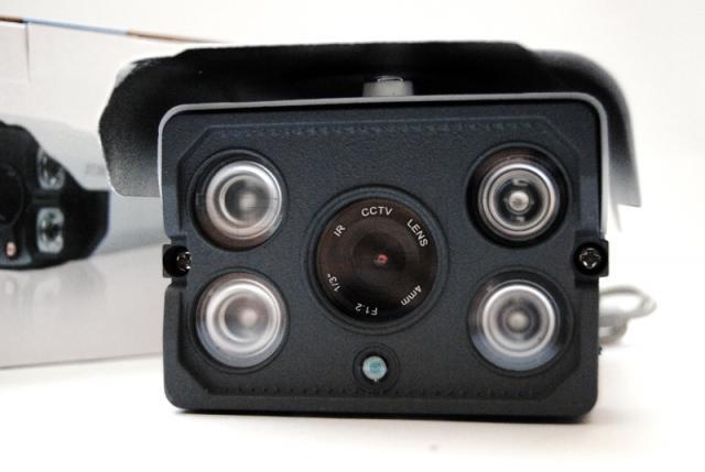 Camera with four IR LEDs