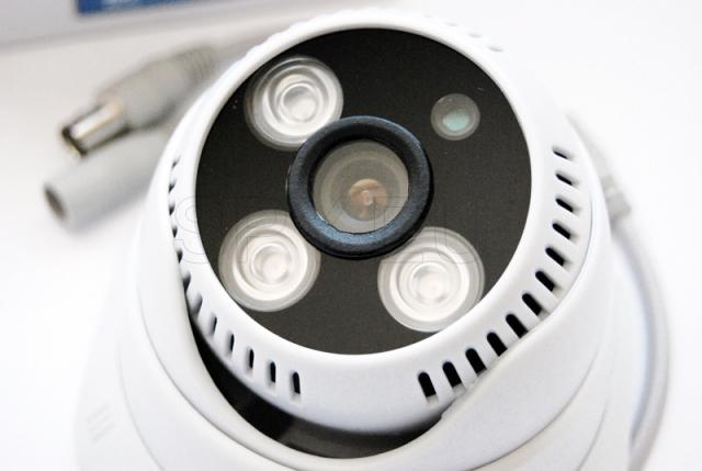 CCTV camera for indoor installation
