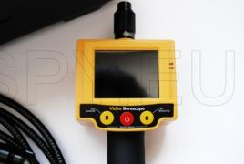 Endoscope with display and 3 meter pipe