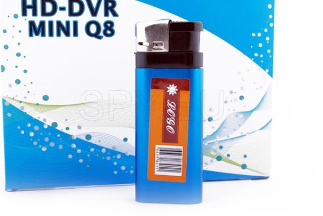 Lighter camera