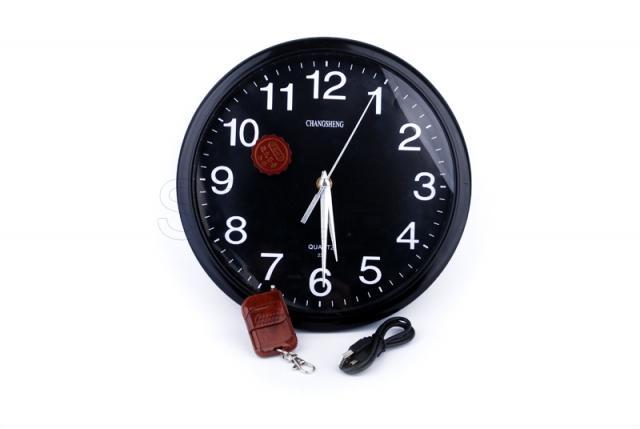 Camera in a clock