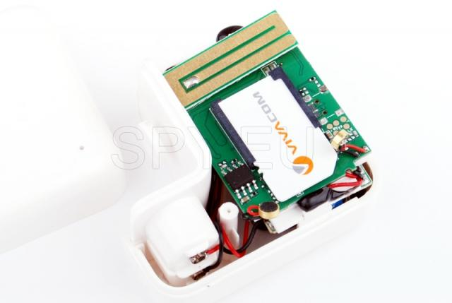 GSM listening device in adapter