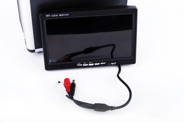 Fishing scanner with display