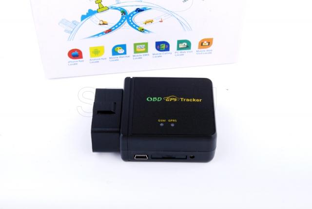 GPS tracker for OBD socket
