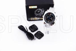 Watch-camera with two batteries