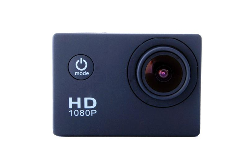 Sports airtight FullHD camera - black