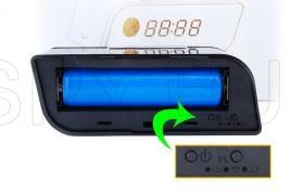 IP camera in digital clock