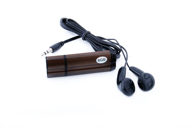 Flash drive audio recorder