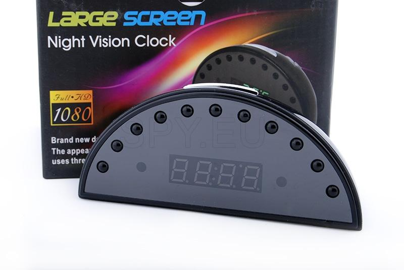 1080p camera in clock