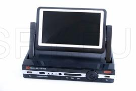 4 канален DVR със 7 инчов монитор