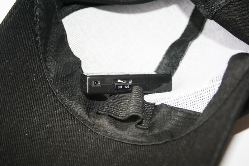 Schildmütze Funk Kamera