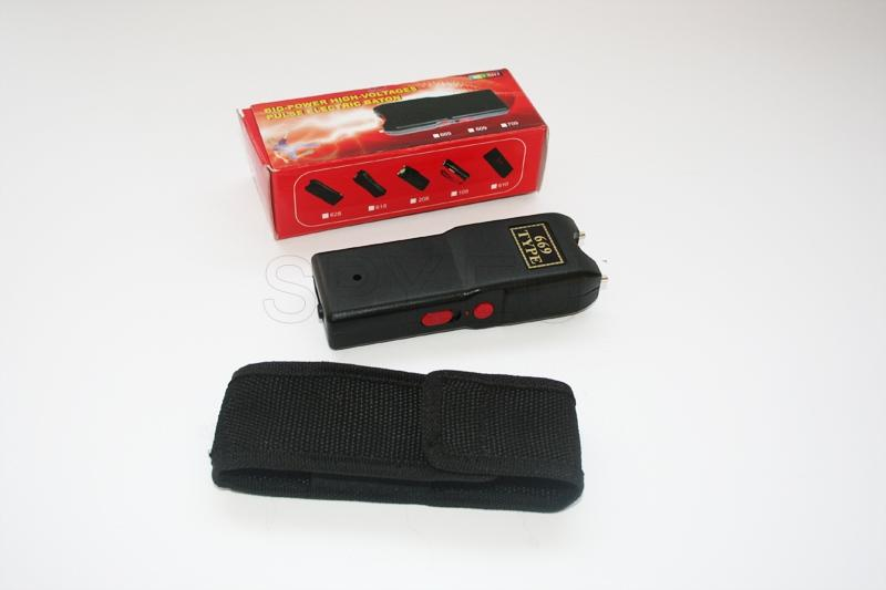 STGN03 - 2.1mV Stun Gun, Available with Nylon Holster and One Bright LED Light