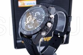 HD камера с IR диоди в ръчен часовник