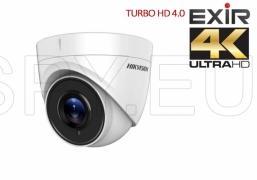 HD-TVI куполна камера 2.8 мм, 8MP - 4K HIKVISION
