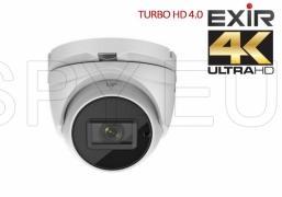 HD-TVI куполна камерас обектив 2.8~12 мм, 8MP - 4K HIKVISION