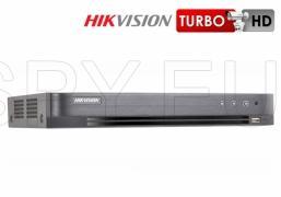 8-канален пентабриден HD-TVI/AHD/CVI/IP цифров рекордер HIKVISION