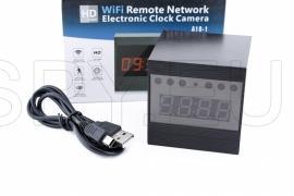 IP камера с IR диоди в настолен часовник