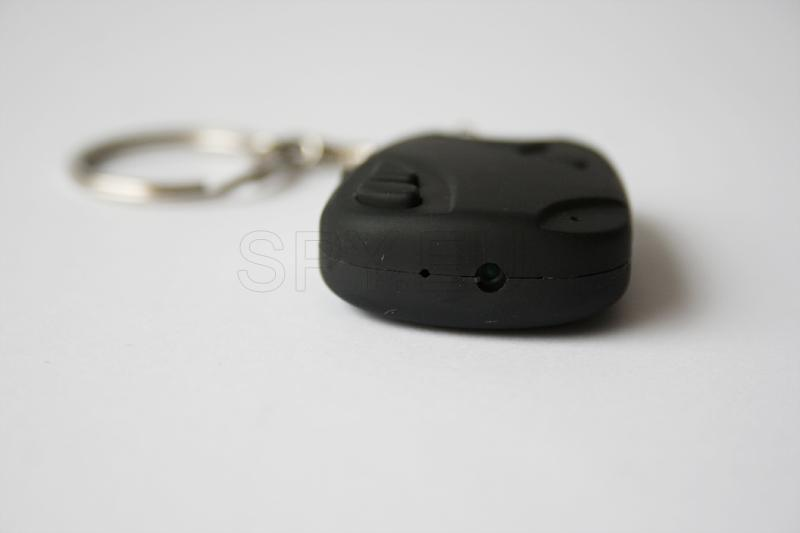 Hidden camera in car alarm remote control