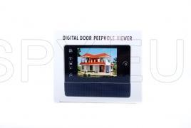 Door peephole with LCD display