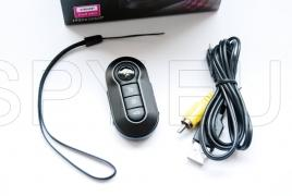 Car remote control with motion detector