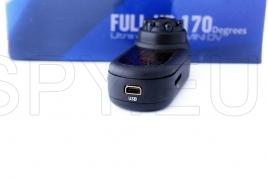Mini camera with wide-angle lens