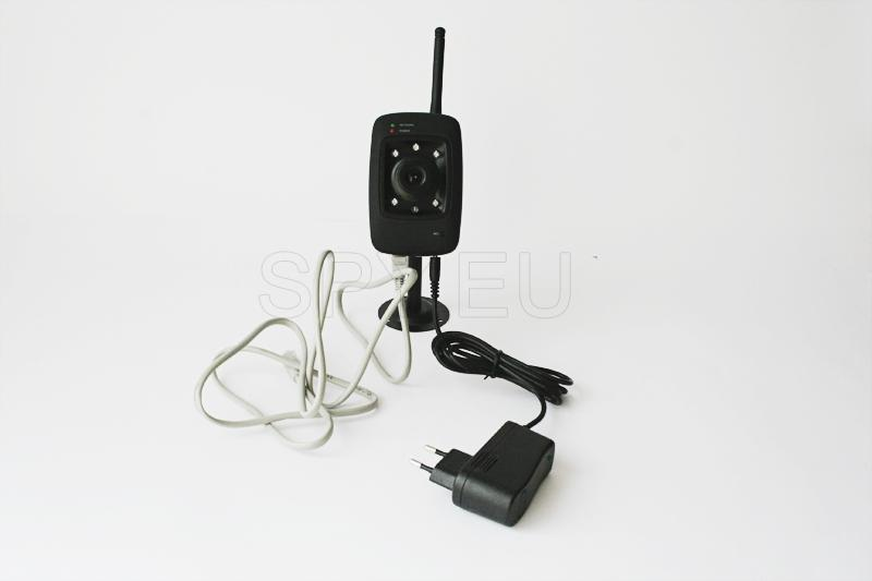 IP camera for LAN and wireless networks