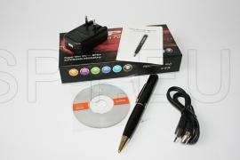 Camera and audio recorder in a pen - 4 GB