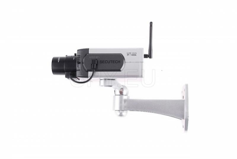 Dummy camera with motion detector