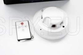 Hidden camera in a smoke detector with 4 GB internal memory