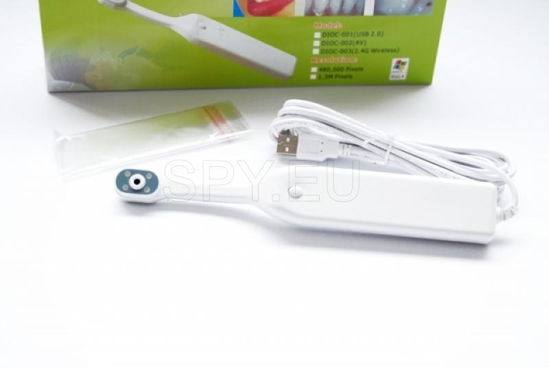 Camera useful in dentistry