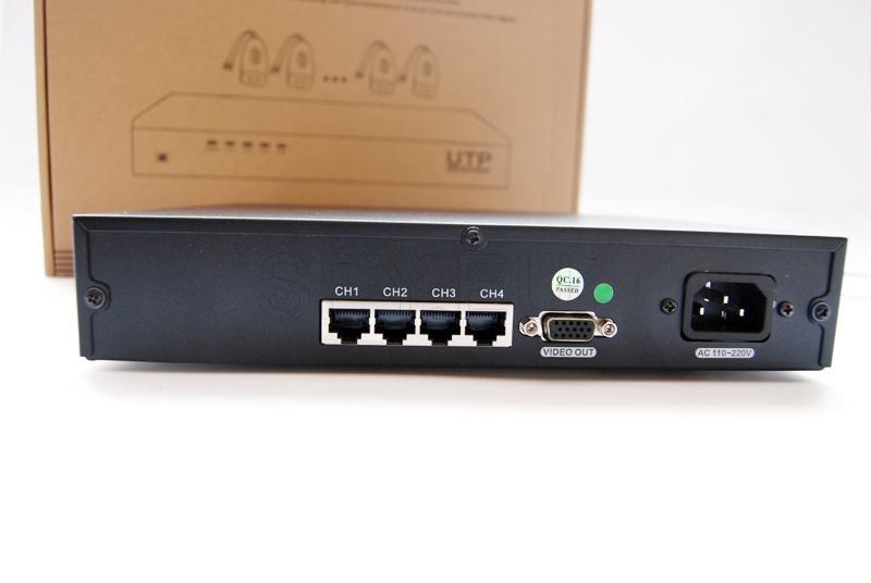 UTP video receiver - 4 channels