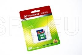 Transcend SDHC 2 Mermory card  - 8GB