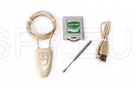 Auricular magnético com receptor de Bluetooth