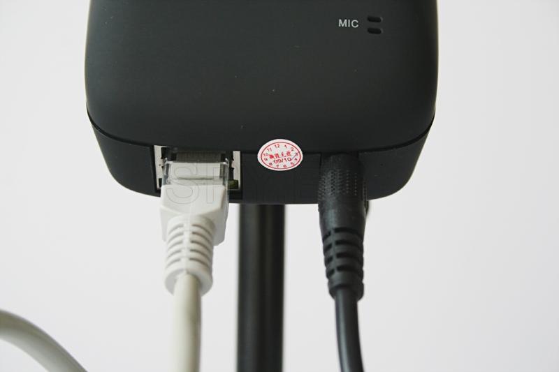 Câmera IP para LAN e redes sem fios