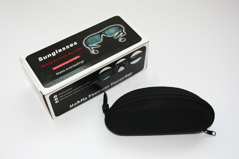 Óculos de sol espião com câmera e MP3 Player – 4GB