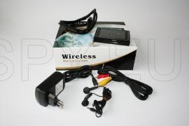 Kit 2.4GHz wireless pen camera - Super thin & light mini DVR with 3.5