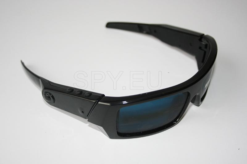 BC19 - Kit 2.4GHz wireless sunglasses camera - Super thin & light mini DVR with 3.5