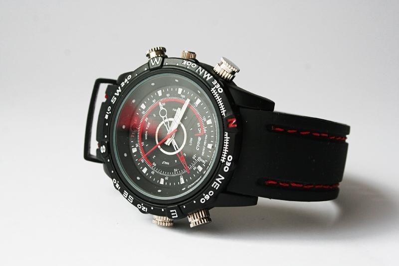 Camera hidden in waterproof watch 4GB